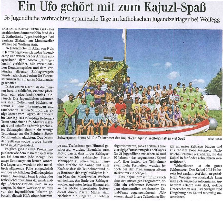 KAJUZL_2012_Zeitungsbericht